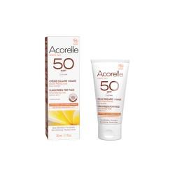 Crème Solaire Visage Certifiée BIO SPF50 50ml
