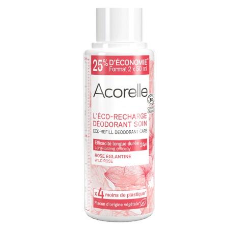 Eco-Recharge Déodorant Rose Eglantine Bio - 100ML