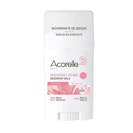 Déodorant BIO Naturel Sans Parfum 40gr | ACORELLE