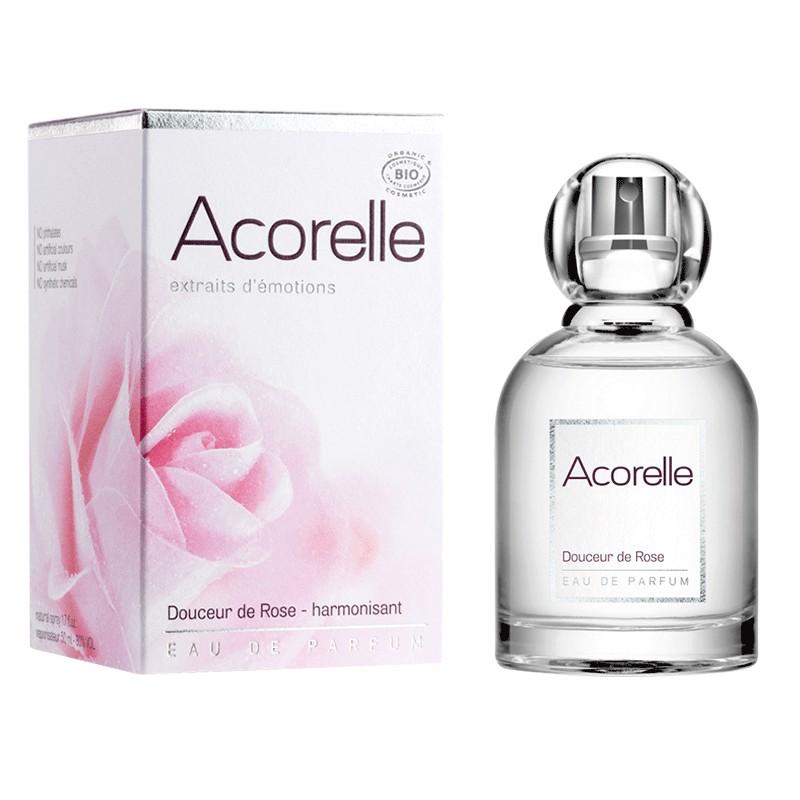 Eau de Parfum Bio Certifiée Douceur de Rose 50ML | Acorelle
