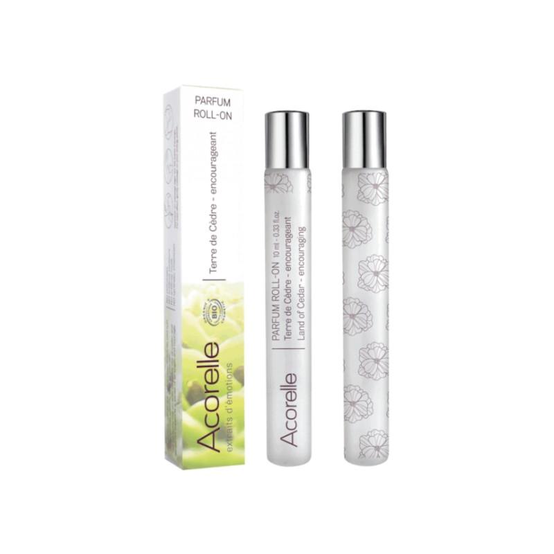 Eau de Parfum Roll-On Bio Certifiée Terre de Cèdre 10ML* | Acorelle
