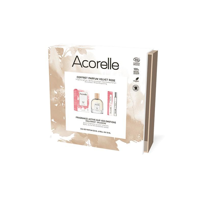 Coffret Eau De Parfum Bio Certifié Velvet Rose | Acorelle