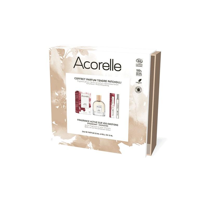 Coffret Eau De Parfum Certifié Bio Tendre Patchouli | Acorelle