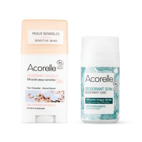 Pack déodorant naturel et bio pour homme et femme