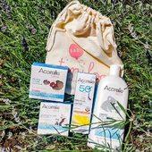 ☀ Un concours ensoleillé rien que pour vous !   Tentez de remporter notre crème solaire bébé spf50+ bio, notre savon extra-doux bio, notre éponge de konjac et notre liniment bio ➕ 1 mois de supers couches écologiques @tiniloo !   🥰 Pour cela, suivez les marques @acorelle.fr et @tiniloo sur Instagram et commentez ce post en indiquant le bon plan à un(e) ami(e) !   On vous souhaite bonne chance, le tirage au sort sera effectué parmi les commentaires 🤞